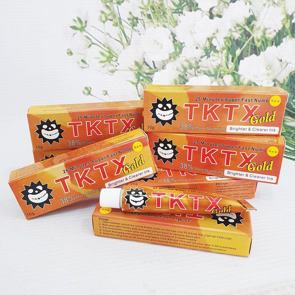 Kem tê phun xăm thẩm mỹ TKTX Gold 38%