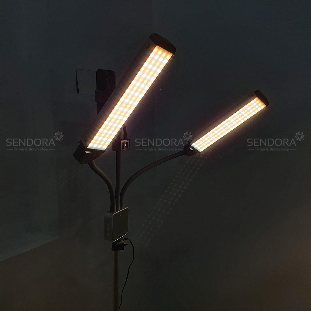 đèn phun xăm cao cấp glamcor đèn phun xăm thẩm mỹ cao cấp glamcor Đèn phun xăm cao cấp glamcor đèn phun xăm cao cấp glamcor Multimedia Extreme lit kit với 2 ánh sáng trắng vàng
