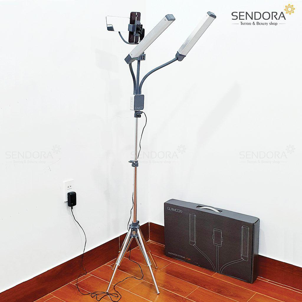 Sendora.vn cung cấp đèn phun xăm cao cấp glamcor multimedia extreme lit kit