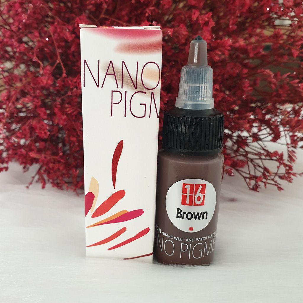 Mực phun xăm Bella, Mực phun xăm Nano 16
