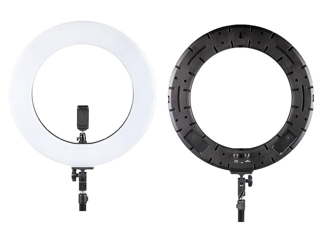 Mặt trước và sau của đèn Led ring light RL-480