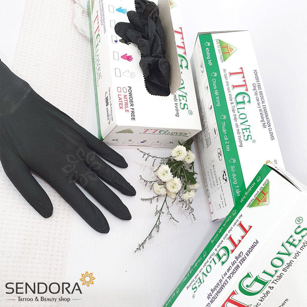 Găng tay y tế không bột, bao tay y tế