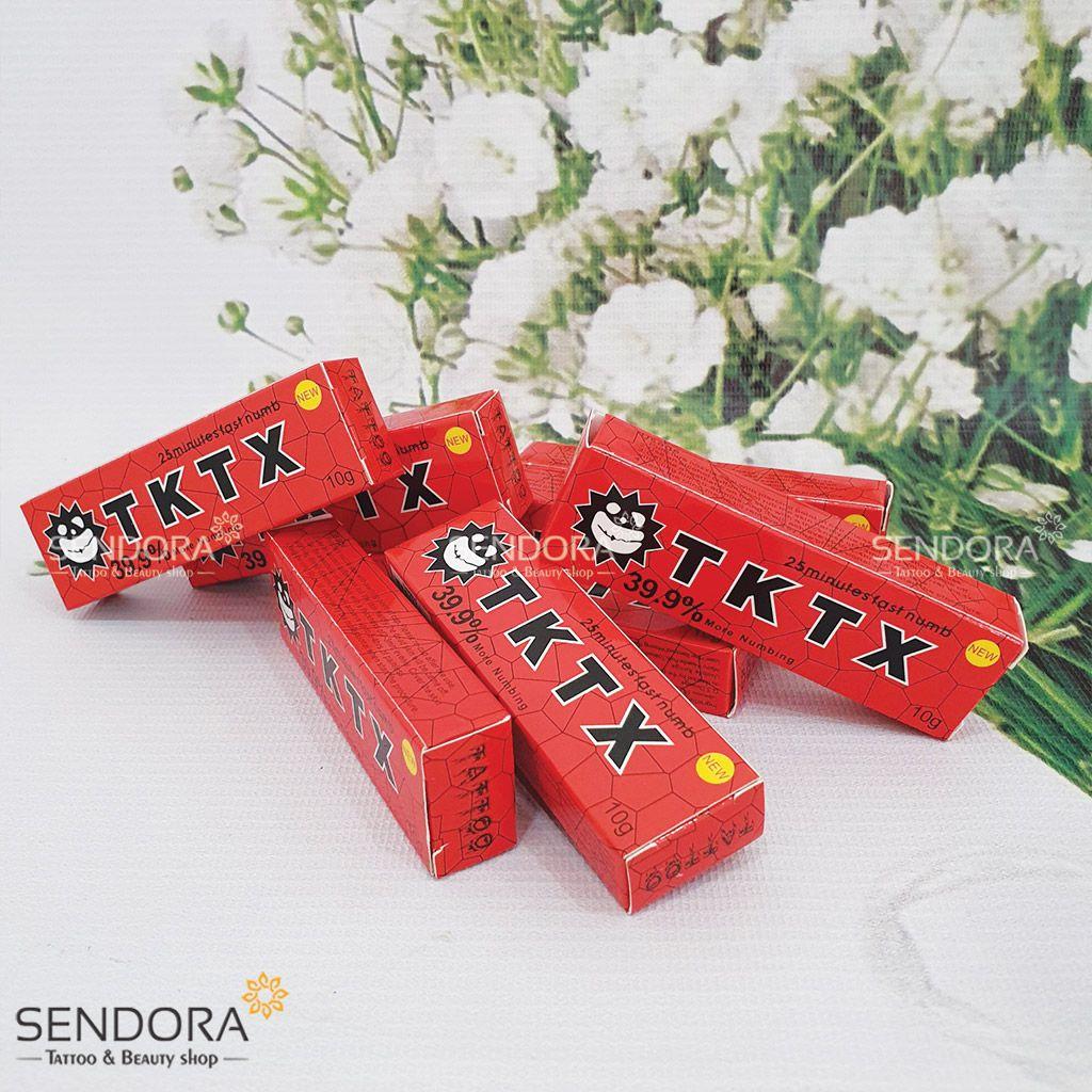 kem tê TKTX nồng độ 39,9% dùng trong phun xăm thẩm mỹ