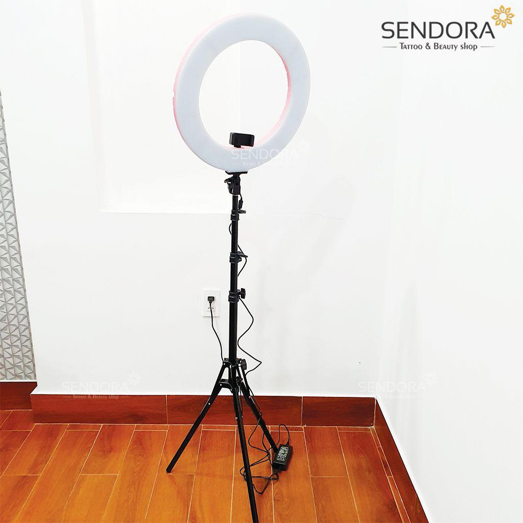 Đèn phun xăm thẩm mỹ giá rẻ, Đèn Spa, đèn led livestream, đèn Led Ring Light RL-480...