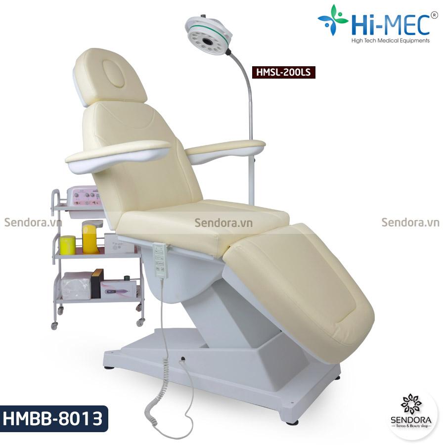 Ghế phun xăm thẩm mỹ chỉnh điện Hi-Mec HMBB-8013