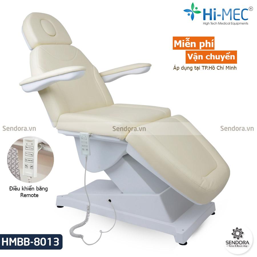Giường phun xăm thẩm mỹ chỉnh điện Hi-Mec HMBB-8013