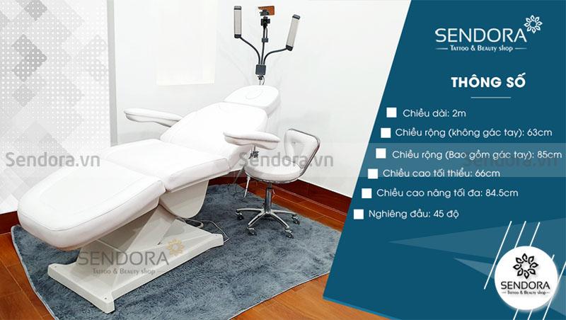 Sendora.vn cung cấp Giường thẩm mỹ chỉnh điện, ghế thẩm mỹ