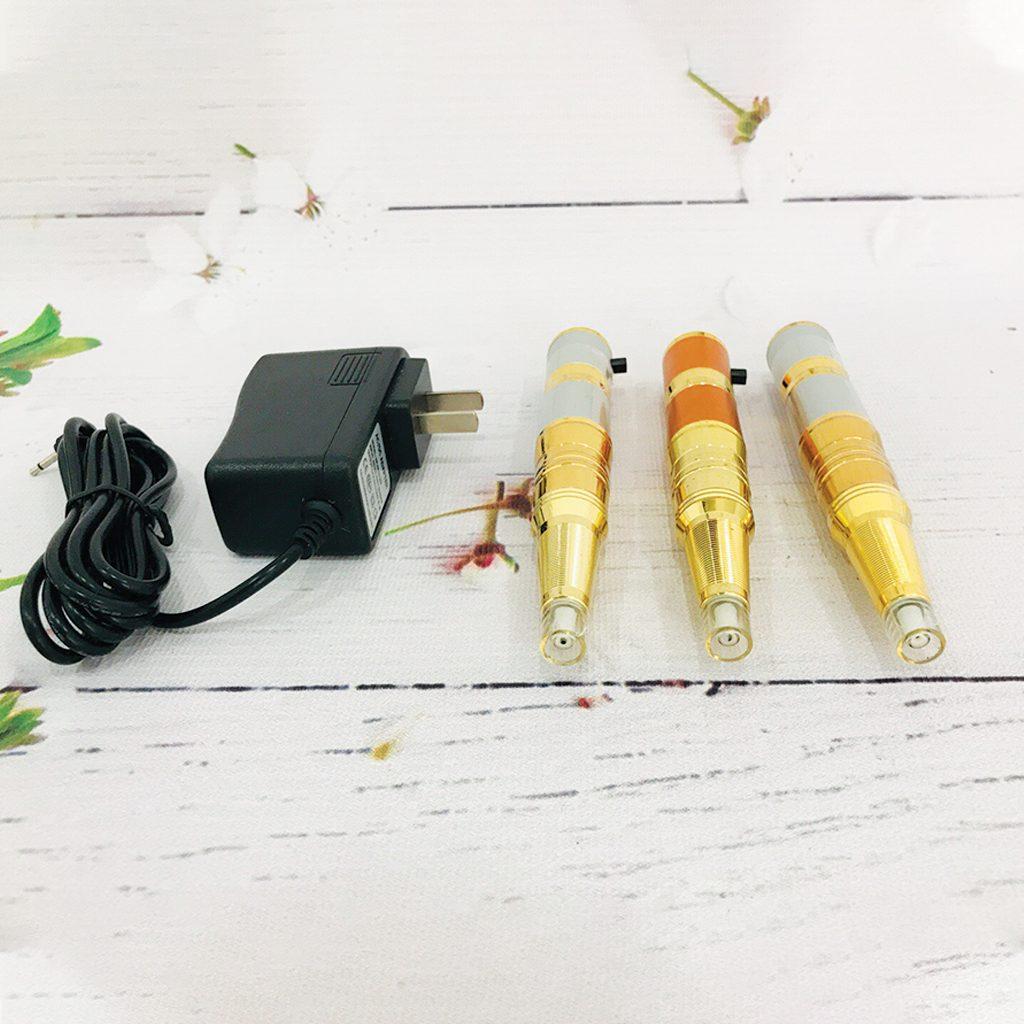 Máy phun xăm phổ thông tích điện