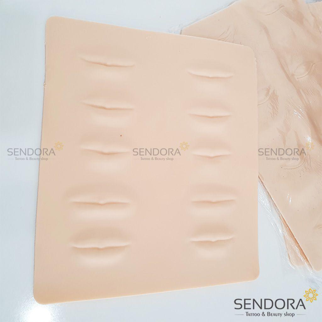 Miếng da dẻo silicon 3D cao cấp hình môi