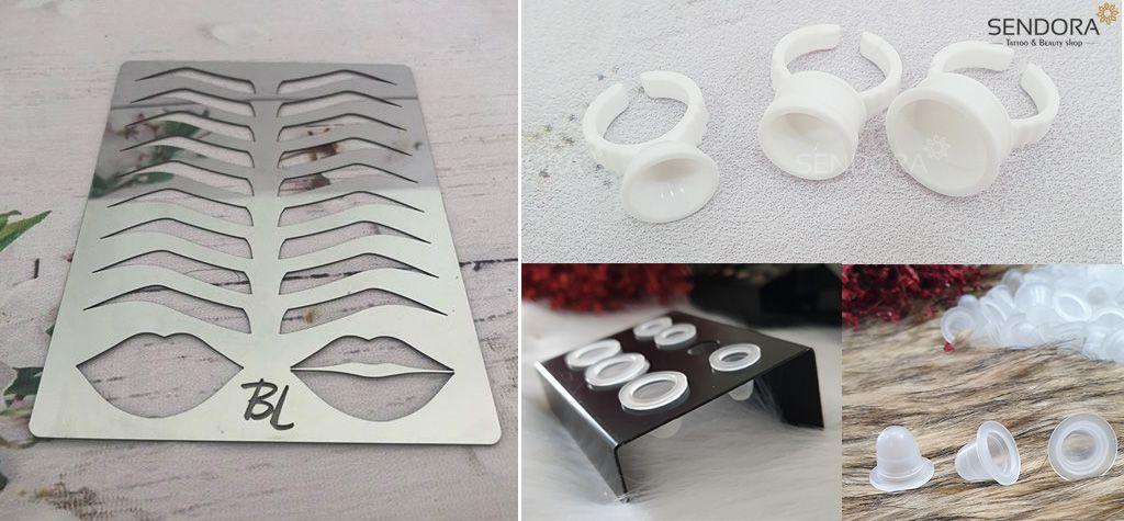 Bộ dụng cụ học điêu khắc và phun xăm cơ bản