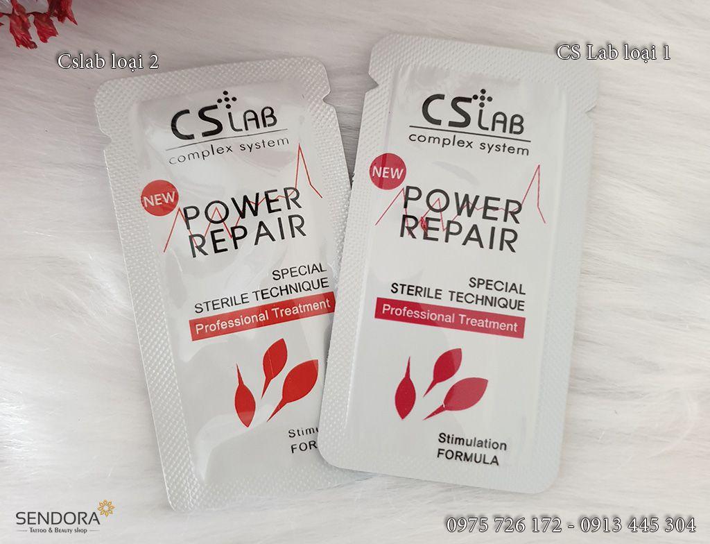 Không chỉ với môi, mày sau phun, thuốc Power Repair có tác dụng tốt các vùng da khác nữa nhé