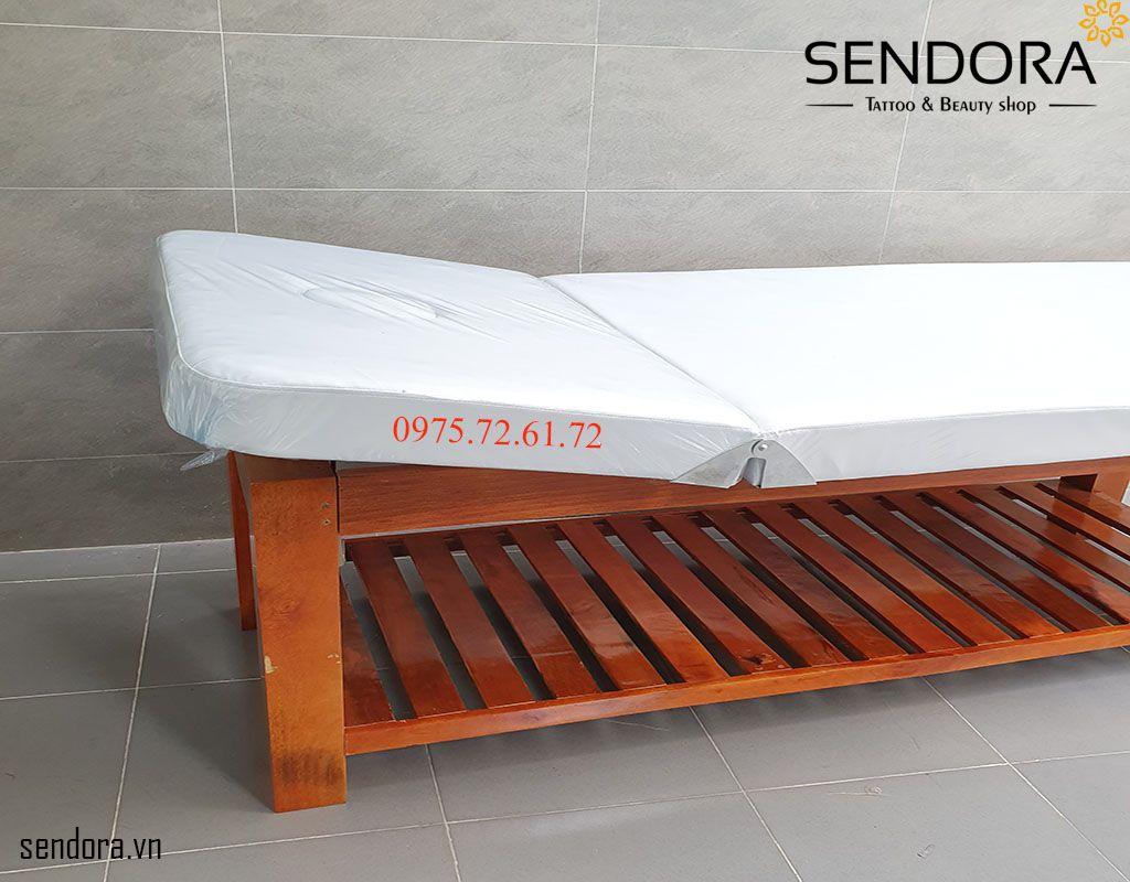 giường masage gỗ giá rẻ