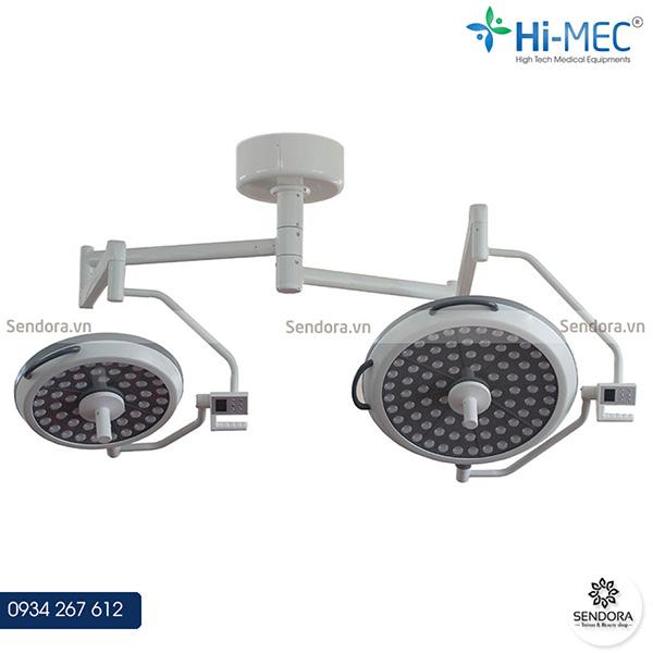 Đèn phẫu thuật treo trần 2 nhánh HMSL-525LS-2 dùng trong y tế