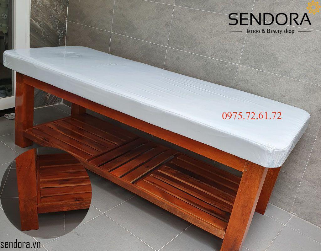 giường massage gỗ giá rẻ