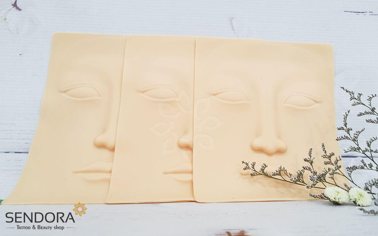 da tập phun xăm 3D khuôn chữ nhật chất liệu cao cấp, giá rẻ nhất thị trường, giao hàng tận
