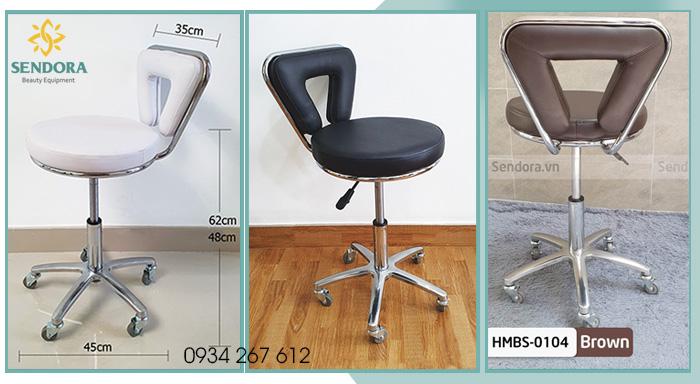 Các loại ghế xoay Spa chất lượng tpHCM hot nhất 2021