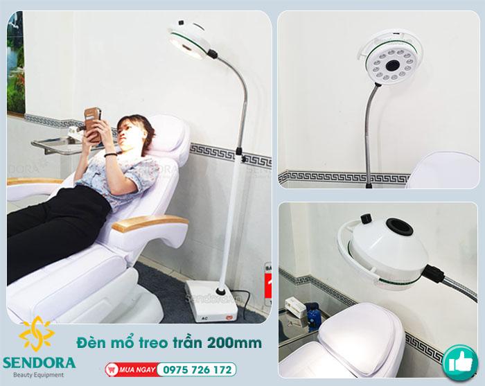 đèn mổ 1 nhánh di động thông dụng trong y tế