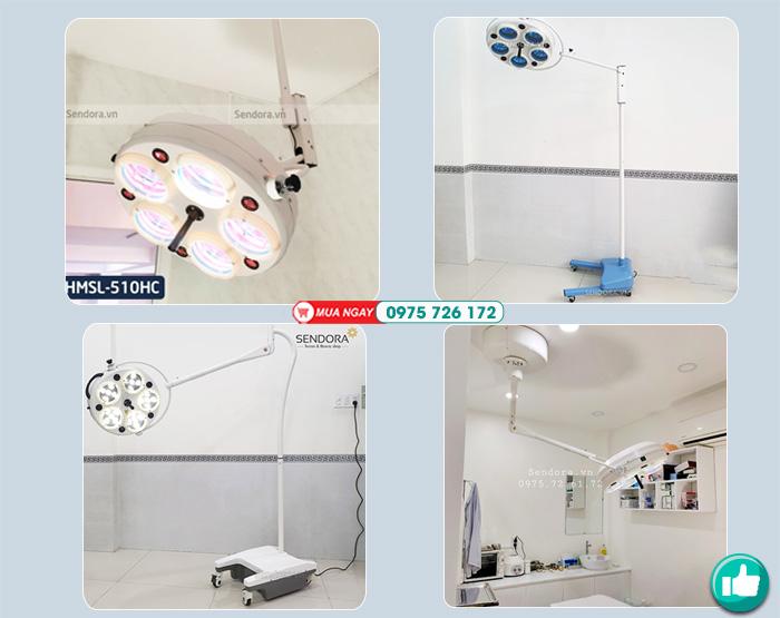 Đèn mổ tiểu phẫu phù hợp cho phòng khám thú y