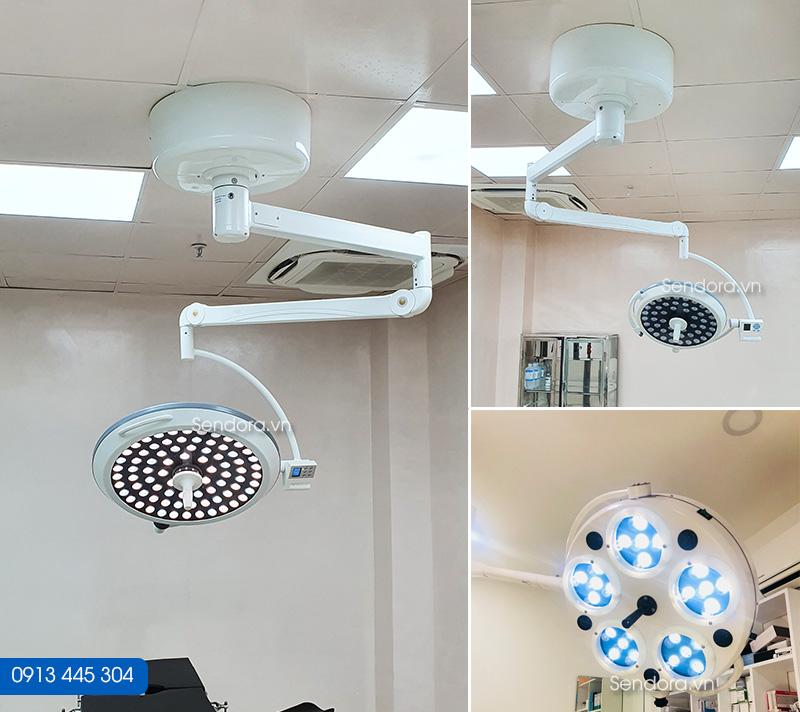 đèn mổ, đèn phẫu thuật di động 5 bóng giá tốt tp hcm