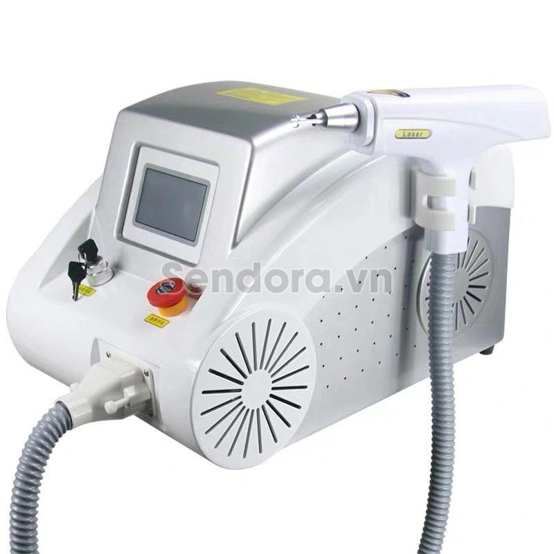 Máy Laser xóa xăm mini, máy xóa tàn nhang, máy trị nám laser