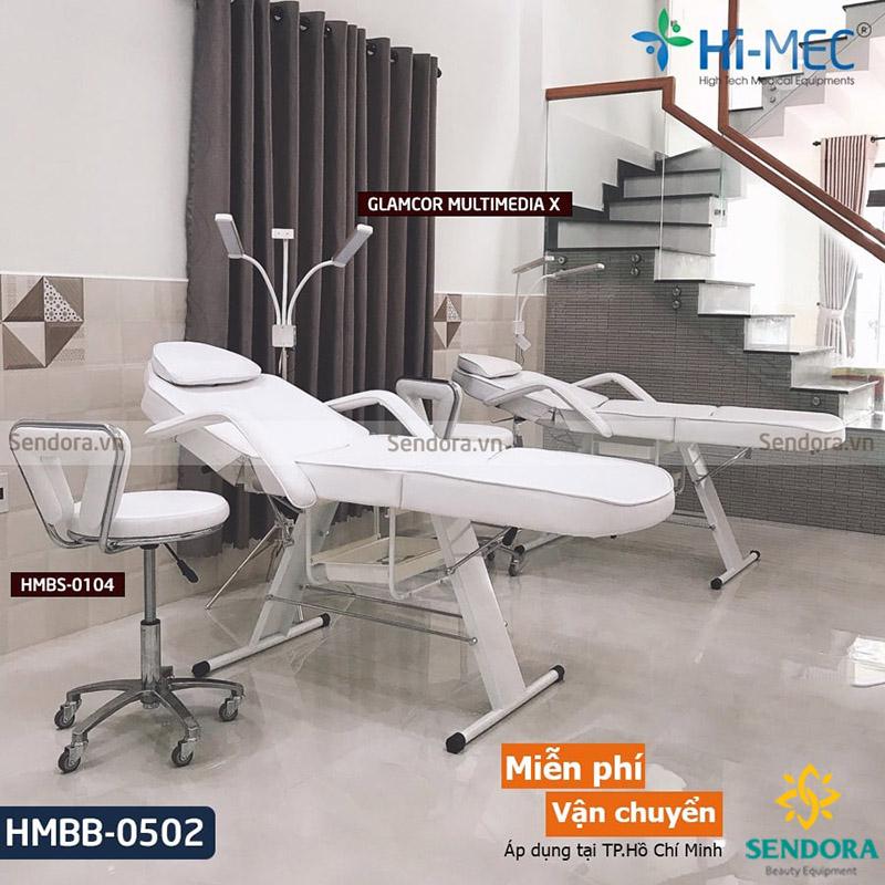Top 5 giường nối mi chân sắt cao cấp giá rẻ số 1 TPHCM