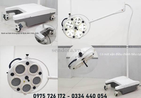 đèn phẫu thuật led di động