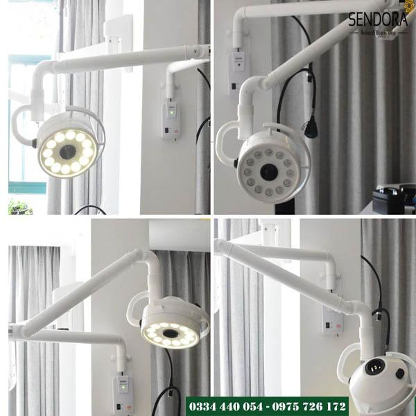 đèn mổ treo tường cao cấp chất lượng