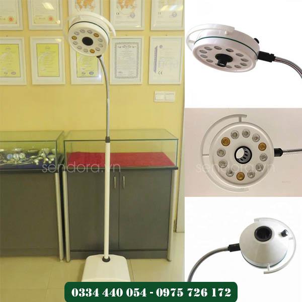 đèn phòng mổ dạng treo tường cho phòng khám, phòng mổ