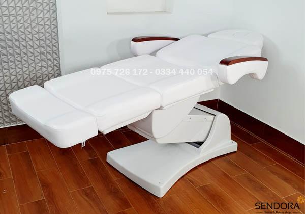 giường thẩm mỹ điện, giường spa chỉnh điện