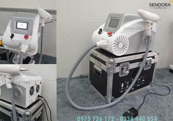 Máy xóa xăm laser mini giá tốt nhất tại tphcm
