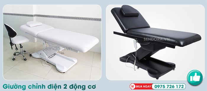Giường spa chỉnh điện dùng cho tiểu phẫu, phun xăm tại Đà Nẵng