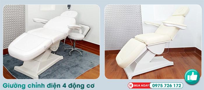 Mua Giường spa chỉnh điện dùng cho tiểu phẫu, phun xăm tại Đà Nẵng