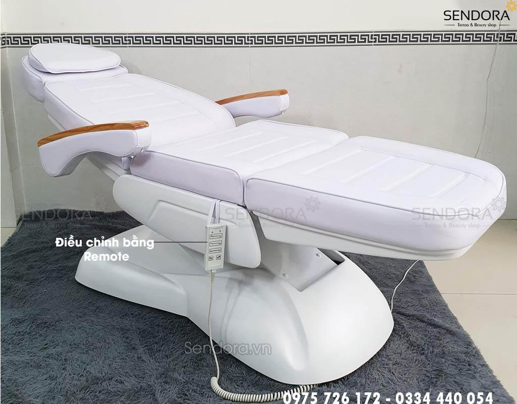 ghế tiêm filler chỉnh điện cao cấp chất lượng tphcm