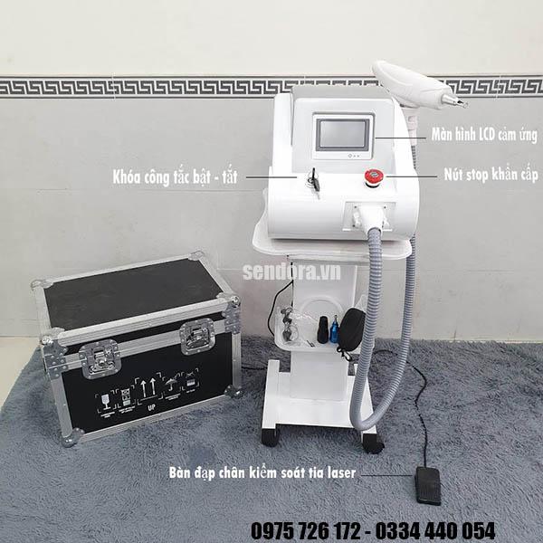 máy laser xóa hình xăm cao cấp