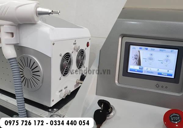 máy xáo xăm laser mini cao cấp xóa xăm hiệu quả