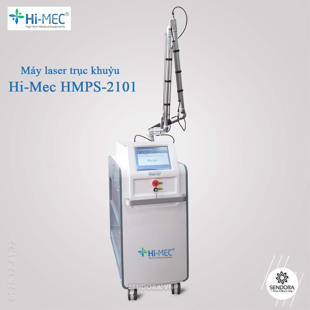 Máy laser xóa xăm trục khuỷu thuộc thương hiệu Hi Mec   được rất nhiều chuyên gia  khuyên dùng