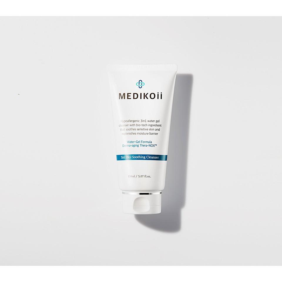 Sữa rửa mặt Medikoii 3in1 Bio-soothing Cleanser 150ml Hàn Quốc