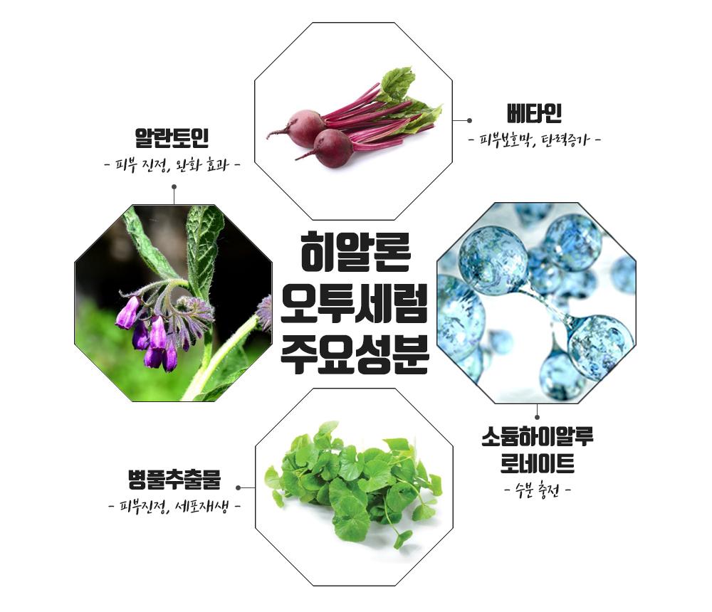 Thành phần Huyết thanh dưỡng ẩm Hyaron O2