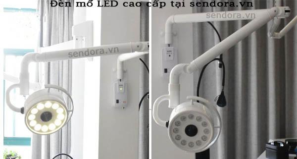 đèn mổ chất lượng, thiết kế gọn phù hợp cho spa thẩm mỹ viện