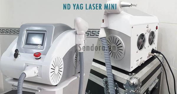 máy xóa xăm laser mini có để lại sẹo không?