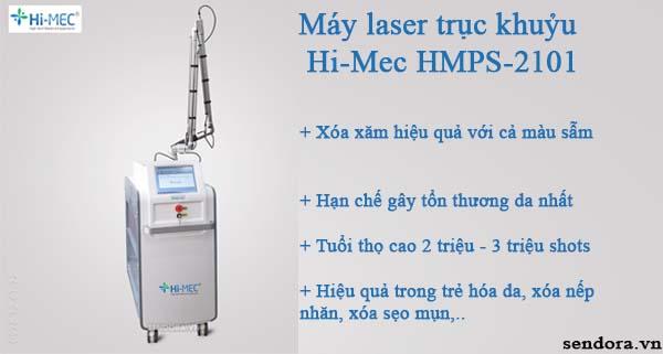 máy laser trục khuỷu chuyên dụng xóa xăm hiệu quả