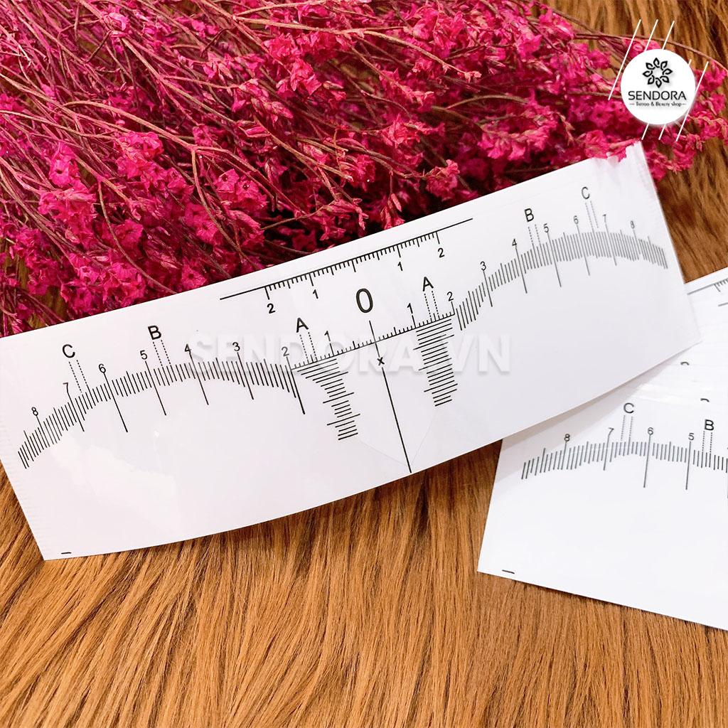 thước dán đo vẽ chân mày