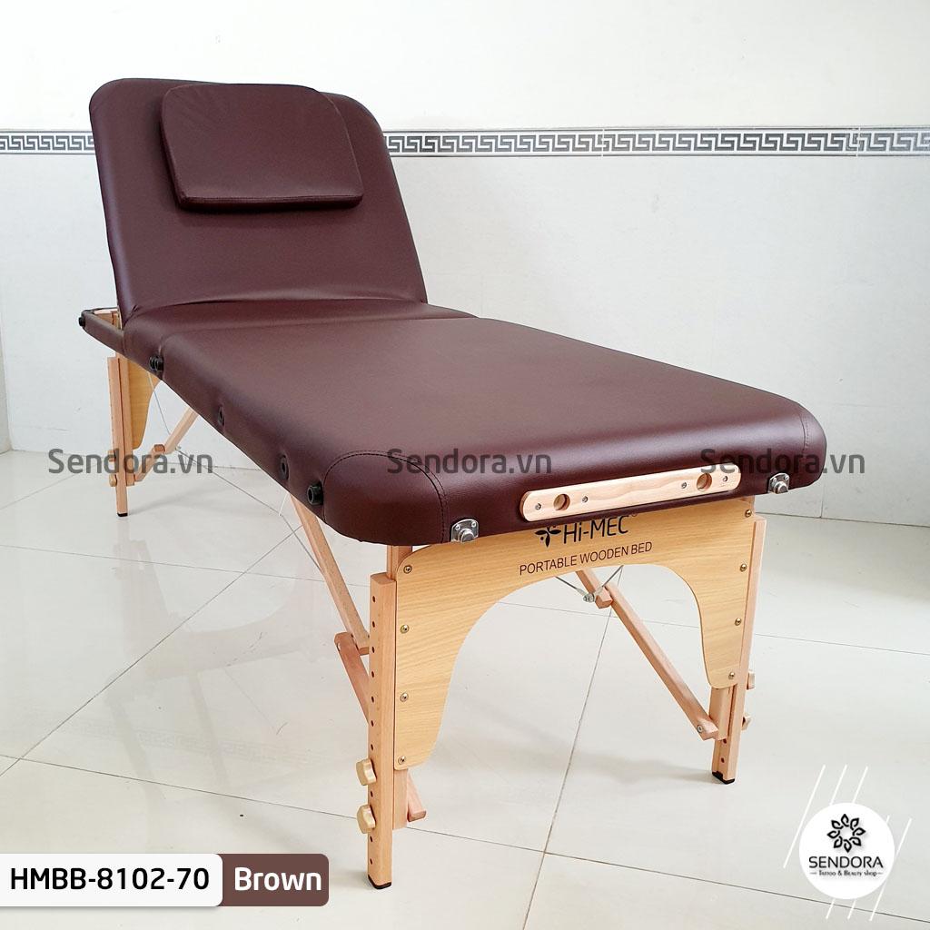 Giường vali Hi-MEC chính hãng, hàng thật 100% có khắc logo Hi-MEC ở phần đầu và chân giường