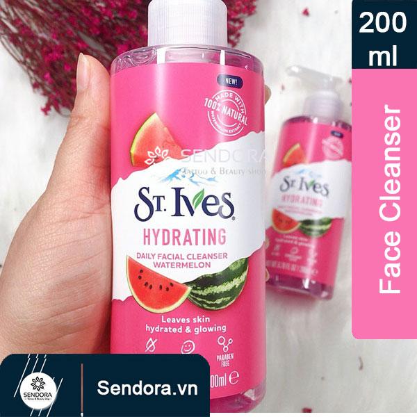 Gel rửa mặt St.Ives hương dưa hấu