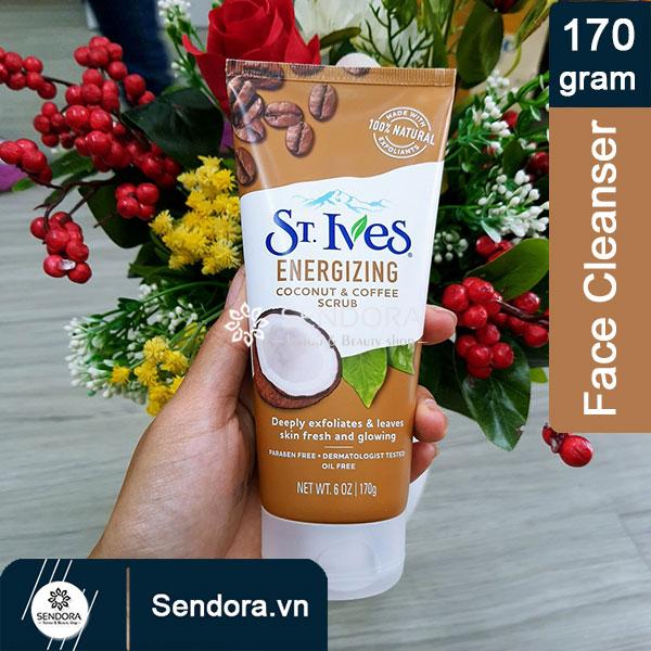Sữa rửa mặt St.Ives hương dừa và cà phê tuýp 170g do Unilever sản xuất