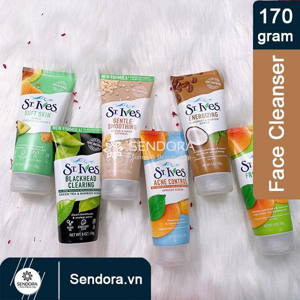 Sữa rửa mặt St.Ives cà phê và dừa 170g còn có nhiều loại hương với tính năng khác nhau
