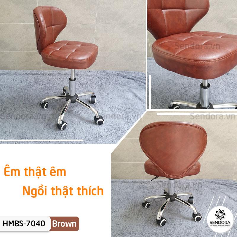 Ghế xoay dùng trong thẩm mỹ Hi-mec HMBS-7040