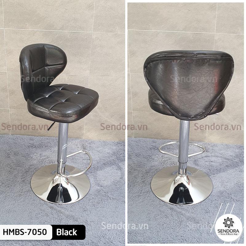 Tổng thể mặt trước và mặt sau của ghế quầy bar Hi-MEC