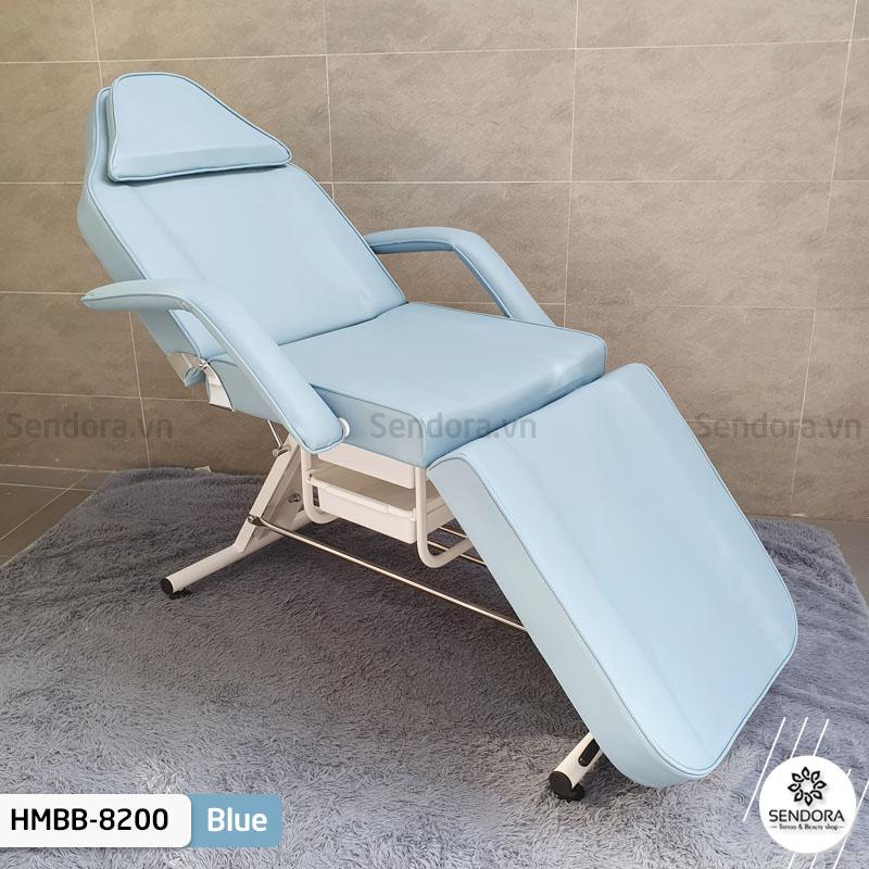 Ghế tiêm filler Hi-MEC HMBB-8200 ứng dụng trong nối mi, phun xăm