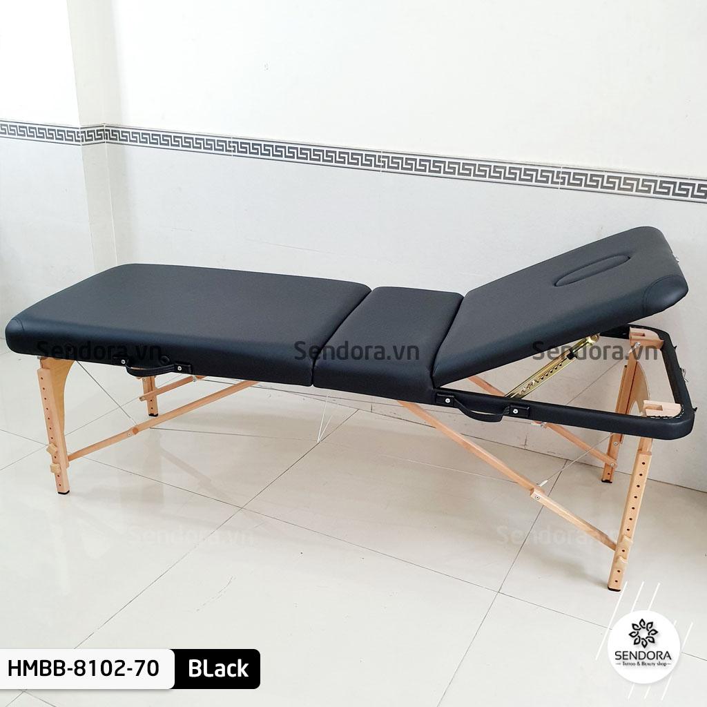 Phần đầu giường phun xăm vali Hi-Mec có thể nâng hạ